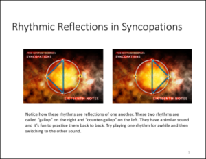 Workbook Level 2 Syncopation Reflectionsframed