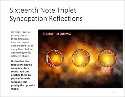 Sixteenth Note Triplet Reflections - Website