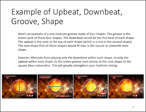 Upbeat, Downbeat...Website