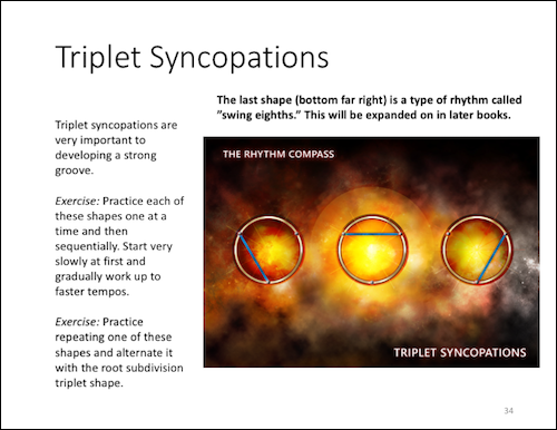 Triplet Syncopation Example website